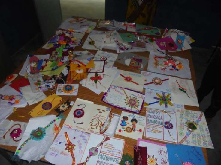 INTER CLASS RAKHI MAKING COMPETITION
